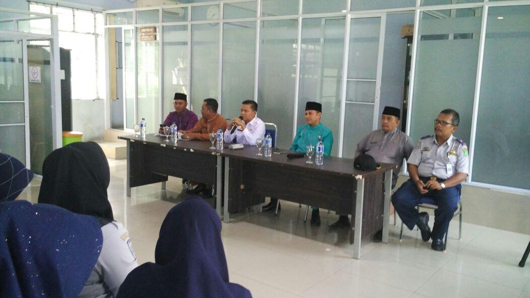Pisah Sambut Kepala Dinas Perhubungan Kabupaten Kepulauan Meranti